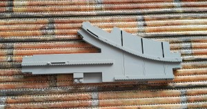 Lego 2889 Monorail Track Point Right - tor