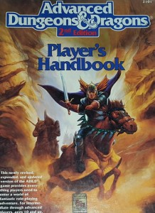 Advanced Dungeons & Dragons 2nd Edition  - Player's Handbook